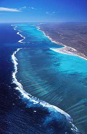 Ningaloo Coast, Western Australia - a UNESCO World Heritage area
