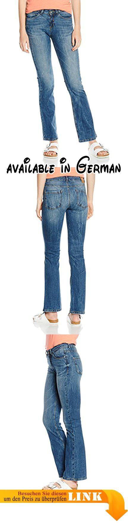 Comma CI Damen Schlag Jeanshose 88.601.71.2085, Gr. 34/L32 (Herstellergröße: 34), Blau (blue denim stretch 56Z7). Jeans mit Bundfalte. Jeans mit Schlag. Schlag #Apparel #PANTS