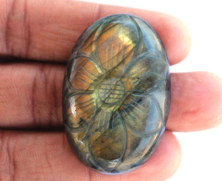 Labradorite Hand Carving Gemstone 102.5 CTS Wholesale Gemstone Cabochon Natural Gemstone for Wirewrapping DIY Ring Pendants Jewelry Supplies http://etsy.me/2zfUy1y #supplies #blue #bachelorparty #christmas #oval #beading #semipreciousgems #labradorite #labradoritestone