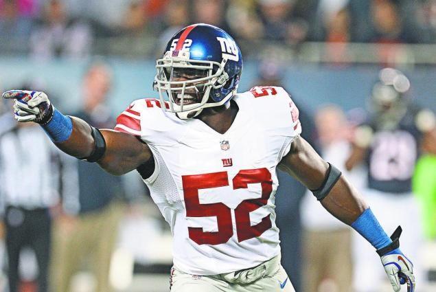 Now with NY Giants, Jon Beason to make third straight start at middle linebacker - NY Daily News