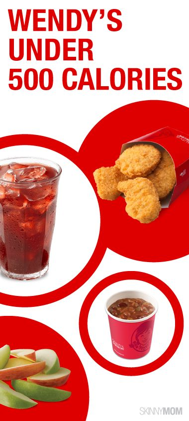 One  the run and need to grab some fast food?  Check out the low calorie options at Wendy's.