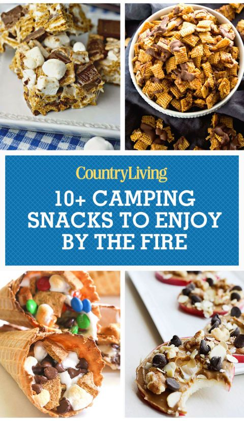 13 Yummy Camping Snacks To Enjoy By The Fire