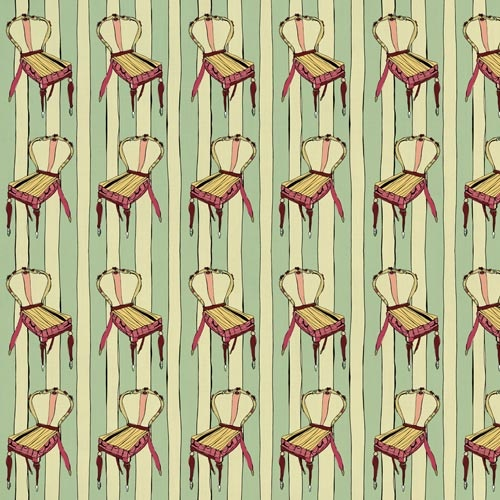 Boudoir from the Original fabric collection by Victoria Verbaan & the smoking daxi