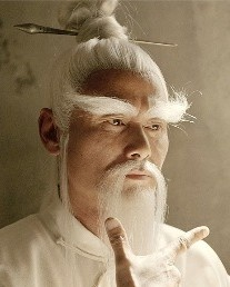 "Pai Mei played by Kung Fu movie legend Gordon Liu in Kill Bill - character is based off of the villain White Lotus with Gordon Liu as the hero. It was a 1980 Shaw Brothers Kung Fu film called Fist of the White Lotus. In that movie after delivering the version of Kill Bill's ""Five-Point Palm Exploding Heart Technique"" a man would die after 100 steps. ""See, my Kung Fu is better than yours. I only took 99 steps!"" ~ Gordon Liu."