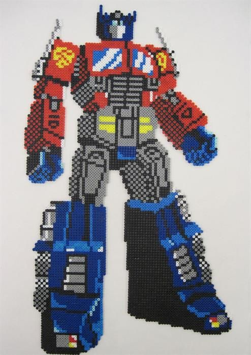 Transformers perler beads by Webster E.