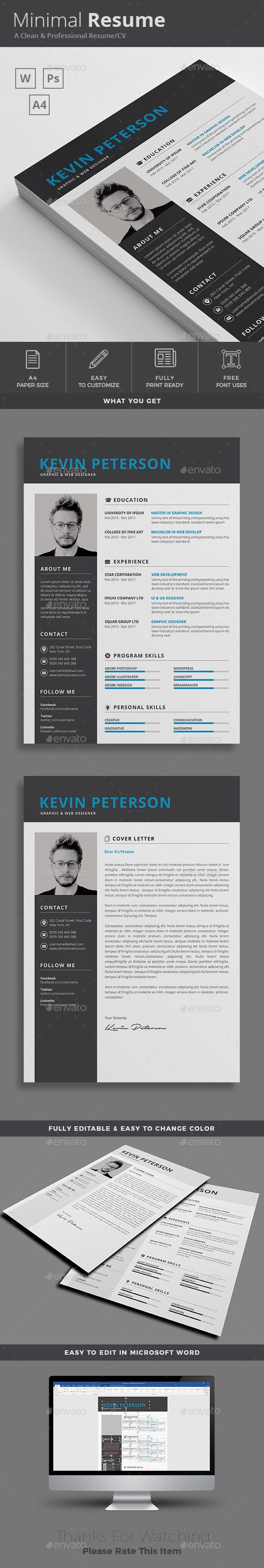 Resume 38 best Resume Design images on