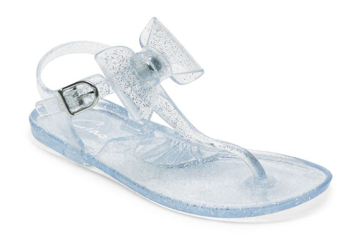 Ciao JELLIES- SILVER GLITTER BOW - CIAO S13 : Shoes & Sox | Girls | Sandals