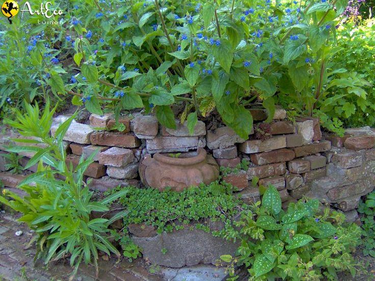 25 beste idee n over oude bakstenen op pinterest - Idee van allee tuin ...