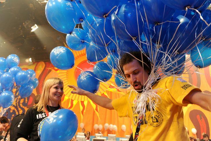 Podczas Finału WOŚP w studio TVP zabawa trwa w najlepsze! :) Fot. Artur Rawicz