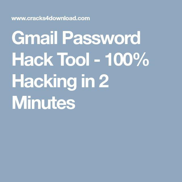 Gmail Password Hack Tool - 100% Hacking in 2 Minutes