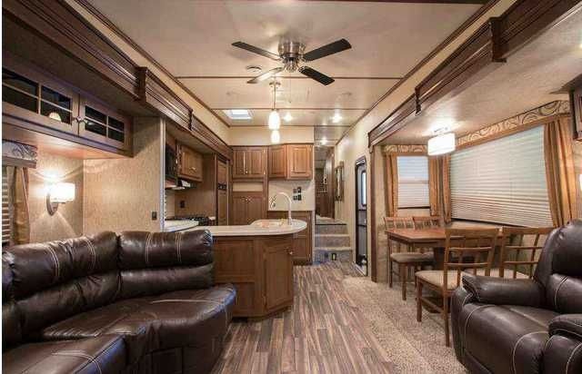2016 New Dutchmen Denali DE316RES Fifth Wheel in Pennsylvania PA.Recreational Vehicle, rv, 2016 Denali DE316RES MSRP-$55,100 4-PT AUTO LEVELING, UPGRADE MATTRESS, WIRELESS BACK UP CAMERA, CENTRAL VAC, FIREPLACE, FREE STANDING DINETTE