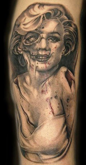 99 best images about horror tattoos on pinterest horror for Jason butcher tattoo flash