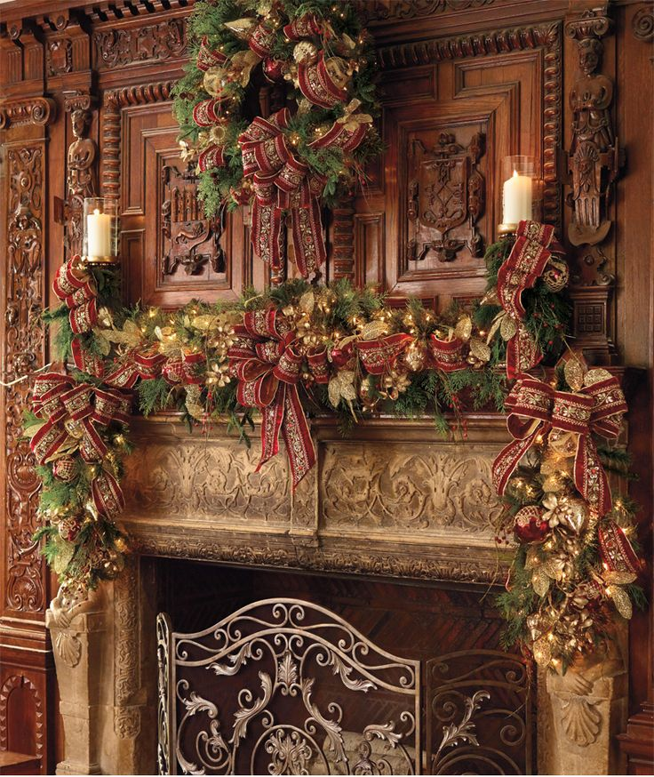 Country Christmas Mantels: Create A Show-stopping Mantel In Five Easy Steps