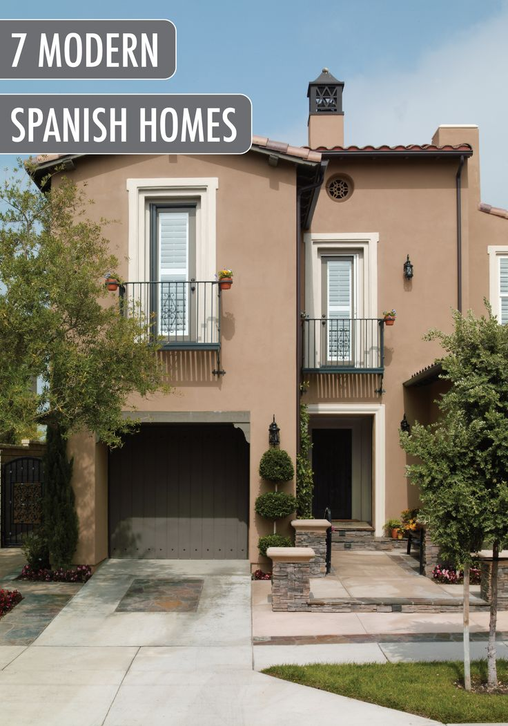 14 best spanish style inspiration images on pinterest for Modern spanish style homes