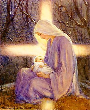 Tarrant - Mary and Baby Jesus💙: