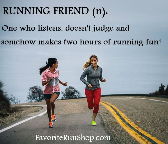 Love my running buddies!! They make running so much easier and more fun!