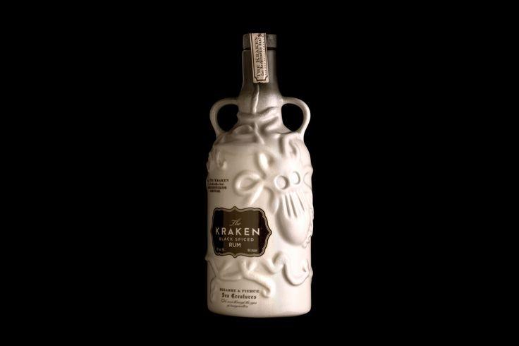 KRAKEN CERAMIC: A limited ceramic bottling from the depths. Proof of the Kraken's existence at the bottom of the ocean.