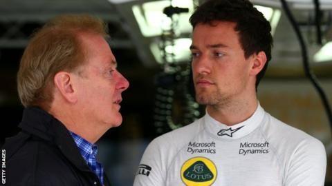 Australian Grand Prix: Jolyon Palmer on being close to death