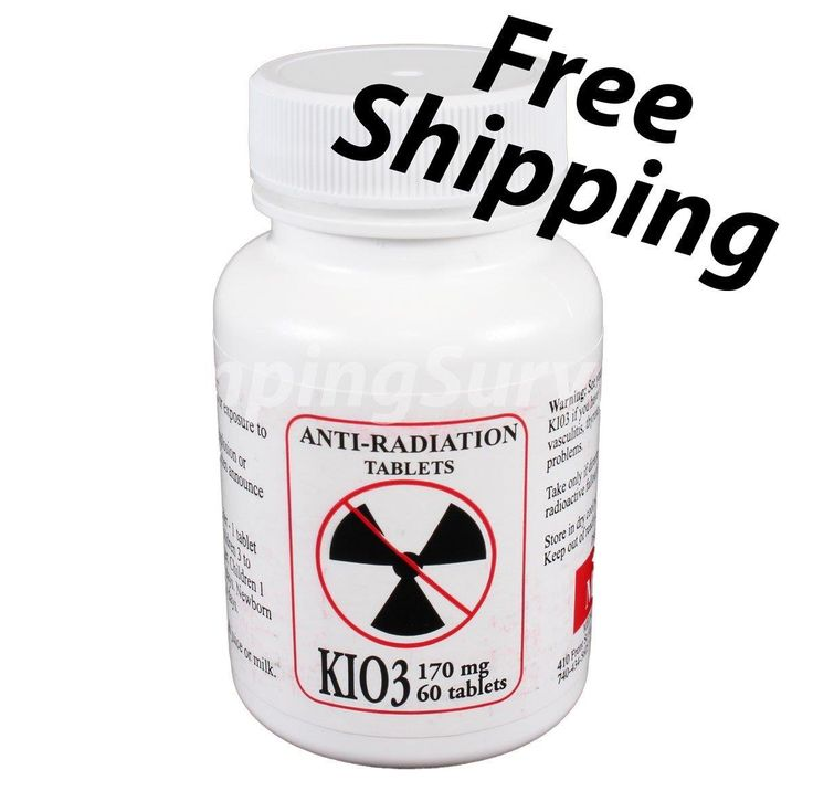 Potassium Iodate Pill KIO3 Nuclear Protection https://www.campingsurvival.com/potiodpilkio.html #outdoor #knives #camping #hunting