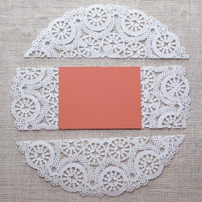 DIY dolly envelopes