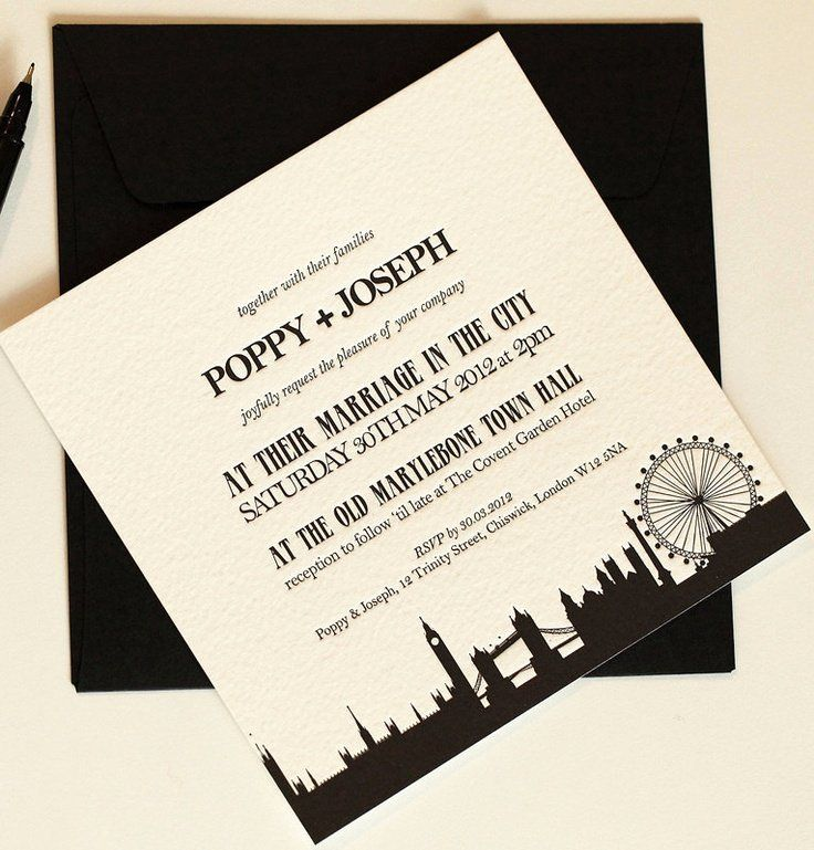 Party City Wedding Invitation Kits Inspirational 17 Best Images About Skyline Invitations In 2020 City Wedding Invitations Wedding Invitation Kits Letterpress Wedding