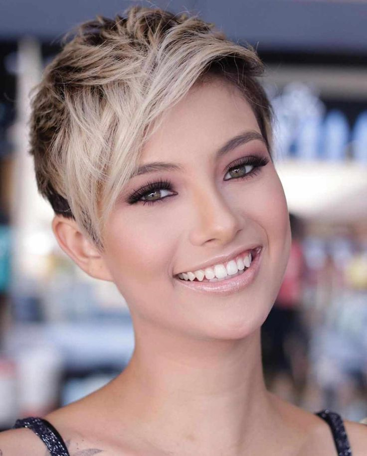 30+ Short Hairstyles That Look Great On Almost Any Woman #haircuts