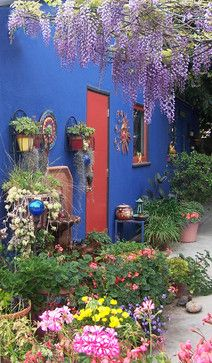 Frida Kahlo Inspired Bohemian Decor | Frida Kahlo Design Ideas, Pictures,  Remodel, And. Bohemian DecorPatiosMexican ...
