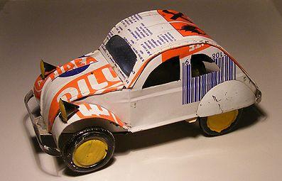 For sale 6.50 Euro >>Citroen 2CV Tin plate - Speelgoedenverzamelshop