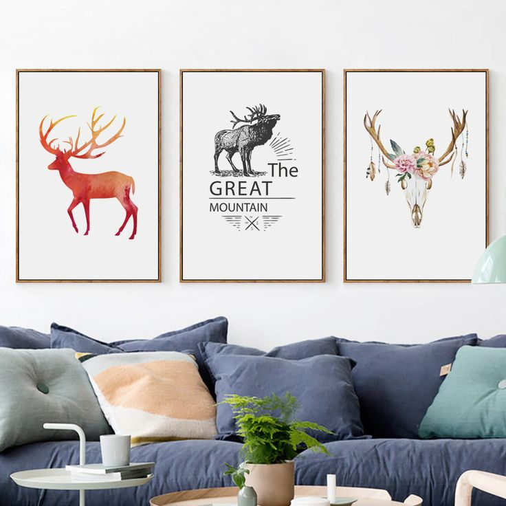 Les 25 meilleures id es de la cat gorie peintures de cerfs for Acheter maison en chine