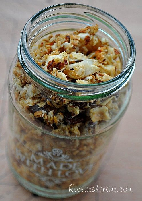 recette muesli yummy sweet pinterest granola muesli and bowl cake. Black Bedroom Furniture Sets. Home Design Ideas
