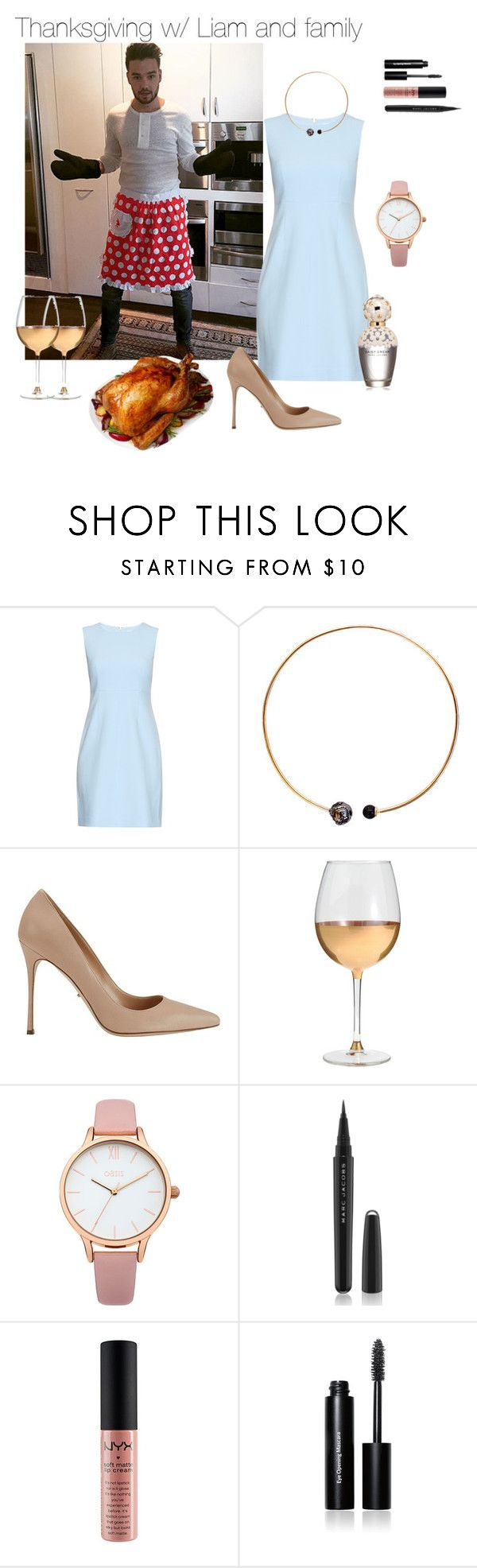 """Untitled #197"" by w3irdgirl ❤ liked on Polyvore featuring Payne, Diane Von Furstenberg, Artelier by Cristina Ramella, Sergio Rossi, Marc Blackwell, Oasis, Marc Jacobs, NYX and Bobbi Brown Cosmetics"