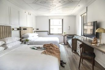 Experience a world class Nashville hotel when you book with Starwood at Noelle, Nashville, a Tribute Portfolio Hotel. Receive our best rates guaranteed plus complimentary Wi-Fi for SPG members.