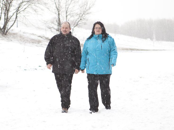 Warme Winterjacken und Skihosen in großen Größen