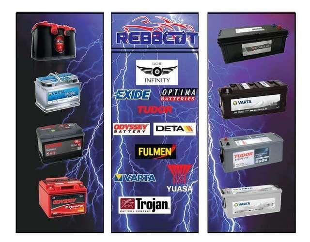 . Venta baterias a domicilio, servicio 24 horas. Tienda venta de baterias nuevas para motos, coches, furgonetas, camiones, excavadoras, tractores, maquinaria, autocaravanas, barcos, etc. somos especialistas en baterias de todo tipo. nuetras marcas: tudor, varta, optima, formula, yuasa, exide, light infinity. baterias fabricadas en acido, agm, gel, baterias de 2v para caretillas electricas. amperajes mas usados: 35, 40, 45, 47, 50 ah, 55 ah, 60 ah, 62 ah, 65 ah, 70 ah, 72, 74, 75, 77, 80 ah…
