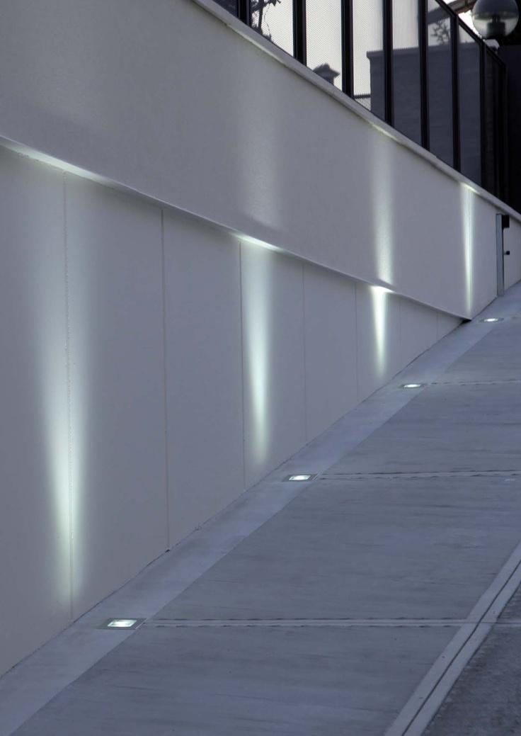 iluminacin tcnica para exterior con luz led o halogeno modelo tellux t
