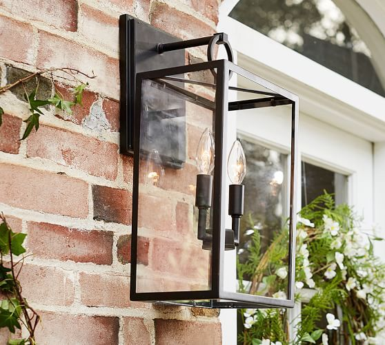 Best 25 outdoor sconces ideas on pinterest outdoor sconce get the trendiest outdoor decor ideas with these graphic lamps aloadofball Gallery