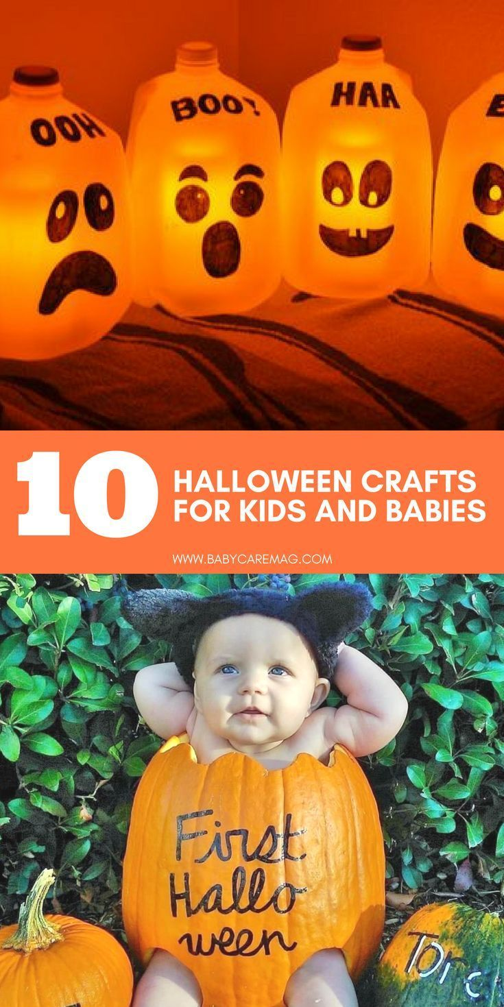 10 Halloween Crafts for Kids and Babies