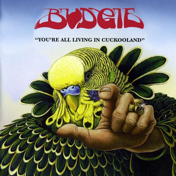Welsh band BUDGIE - You're All Living in Cuckooland