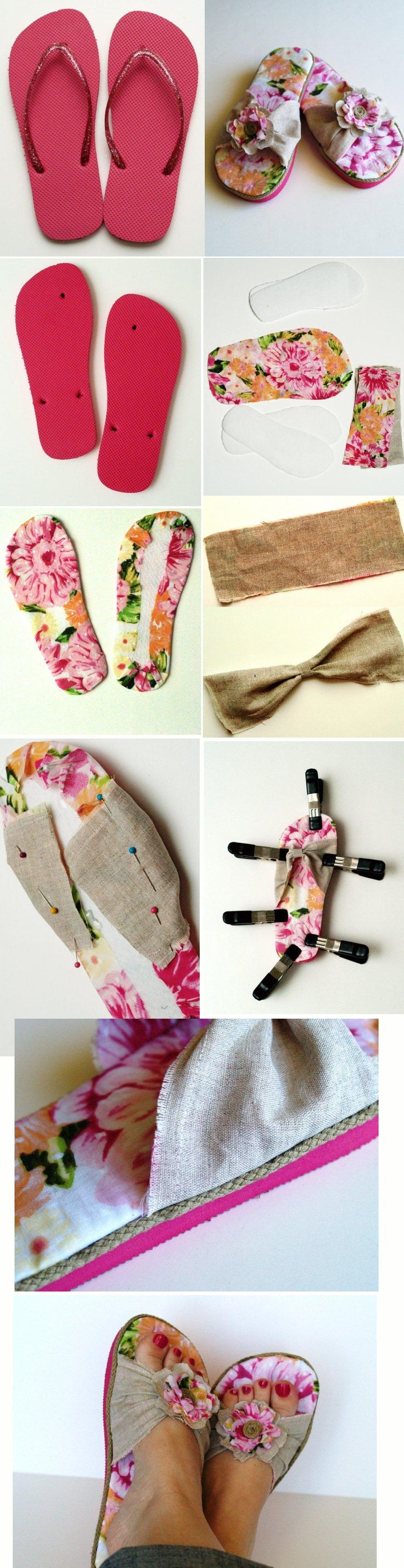 Flip-Flop Refashion -