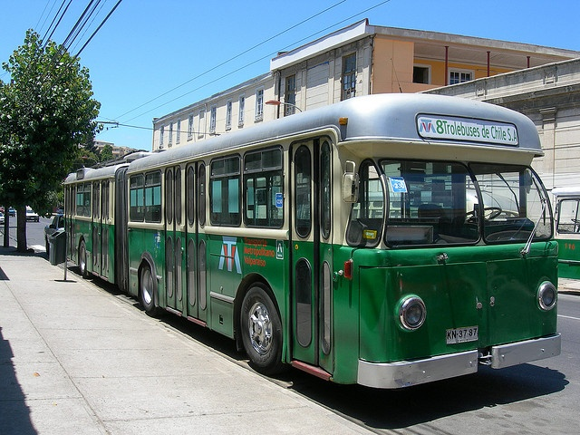 Trolebus transporte de Valparaiso