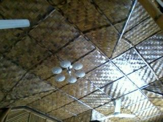 Treatment bamboo ceilings.cool luxurious affordable ecofriendly