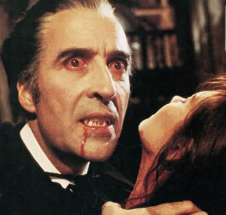 Christopher Lee Dracula Caroline Munro