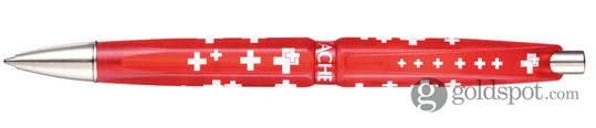 Caran D'ache Eco Collection Swiss Flag - Pack of 10 Ballpoint Pen