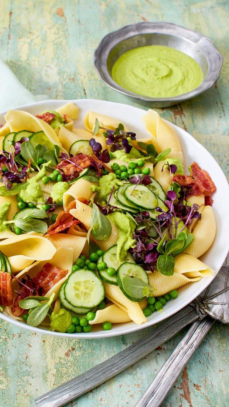 Ein #Dressing zu reinigen! In diesem #Nudelsalat Dressing besteht aus Erb …   – Salate zum Grillen