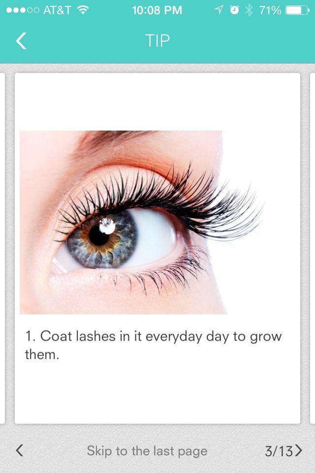Coat Eyelashes In Vaseline To Help Grow Winterbeautytips Winter