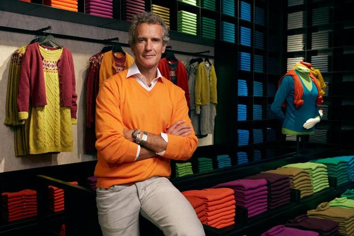 Alessandro Benetton - Empresario Internacional de la Moda