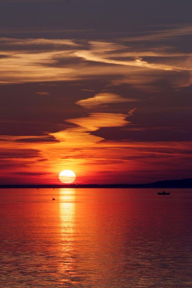 Lake Balaton,photography,sun,sunrise