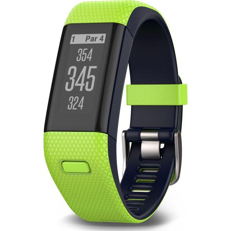 Garmin Approach X40 Golf GPS Activity Tracker | Limelight/Midnight Blue