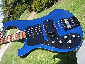 1986 Rickenbacker 4001 4003 Lefty Left Handed Azureglo | eBay