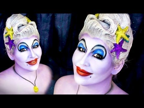 ▶ URSULA The Sea Witch / Halloween Makeup Tutorial - YouTube